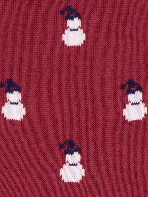 snowman-red