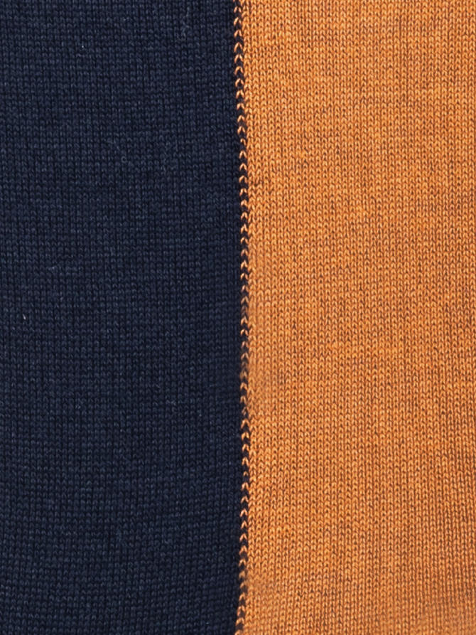 VERTICAL COLOR BLUE & RUST | Acquista Online Andrea Mariani Firenze